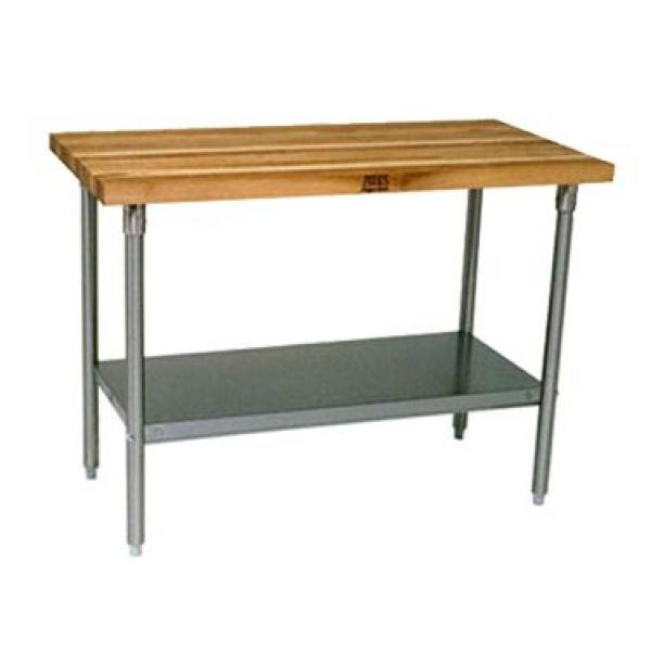 John boos jns01 work table 36 w x 24 d 1 1 2 laminated for Plenty of fish boise