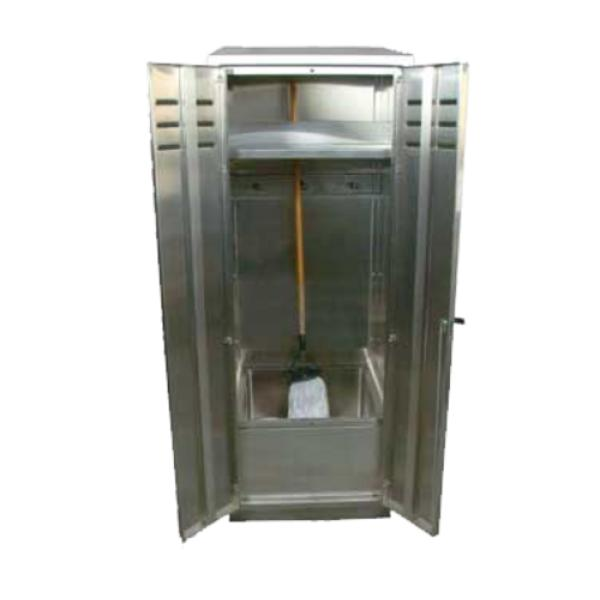 John Boos PBJC-303084 Janitor Cabinet, with mop sink, 30-1/16