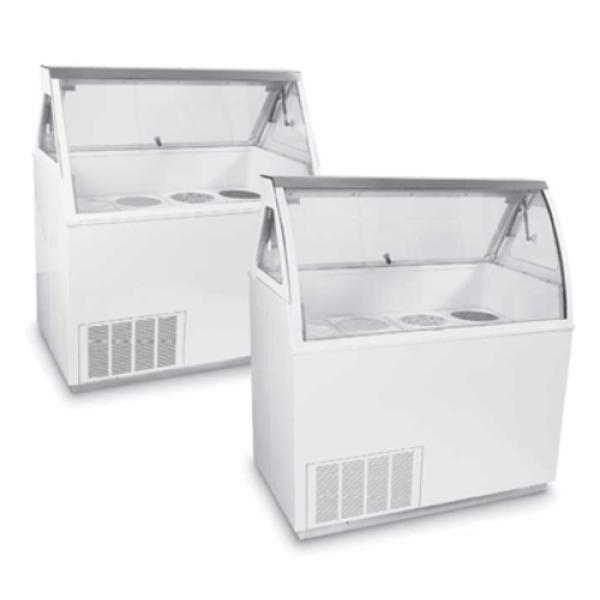 Global Refrigeration CKDCV VisiDipper Ice Cream Dipping Cabinet - Dipping cabinet