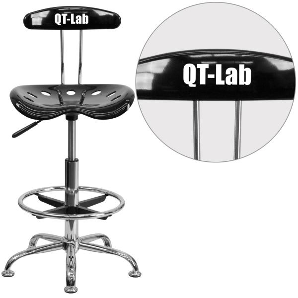 Cool Swivel Drafting Stool Adjustable Height Contemporary Style Plastic Back Comfort Molded Plastic Caraccident5 Cool Chair Designs And Ideas Caraccident5Info