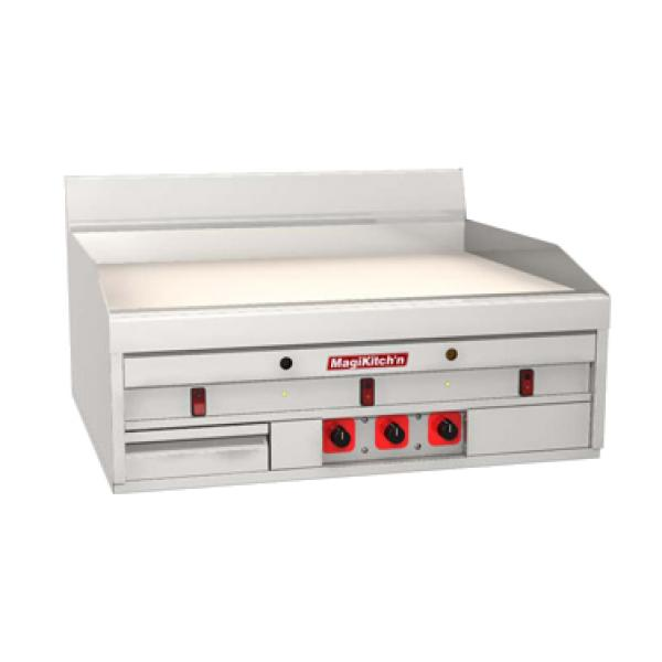 Countertop 24 X 48 : MagiKitchn MKH-48-ST Griddle, countertop, gas, 47-3/4