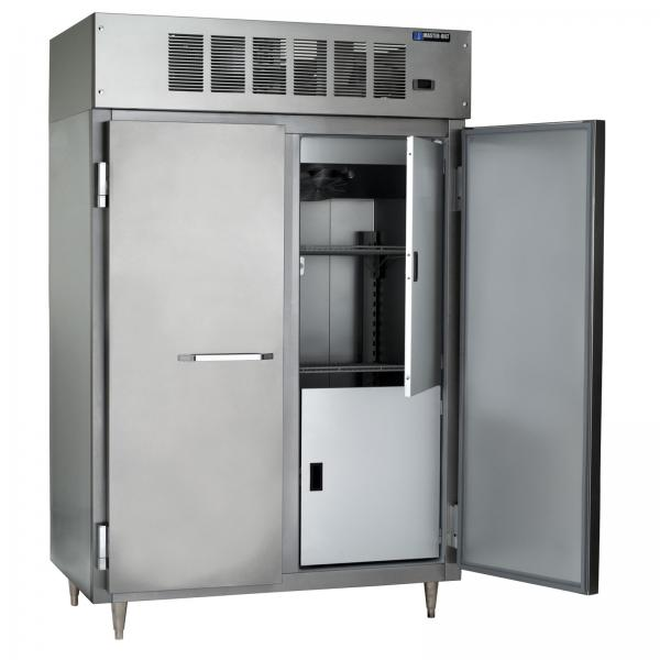 Ice Cream Hardening & Holding Cabinet, two-section, (43) 3 gallon capacity, digital