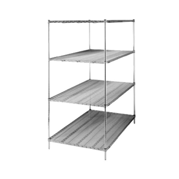 metro 3672ns super erecta super wide shelf wire 72 w x. Black Bedroom Furniture Sets. Home Design Ideas