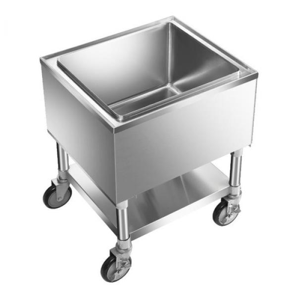 Ice Bin Mobile 18 X 20 1 2 X 12 Deep Bowl Undershelf 18 304