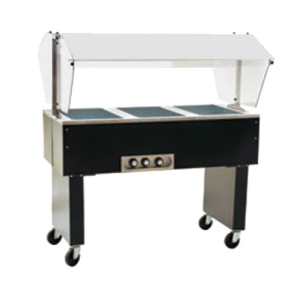 Eagle bpdht4 120 x deluxe service mate portable buffet for Sideboard porta