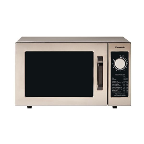 PRO Commercial Microwave Oven, 1000 Watts, 0.8 cu. ft. capacity, 6-minute electronic dial timer