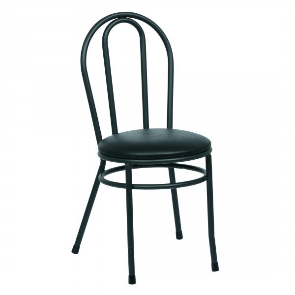 Royal roy 717 b bistro side chair hairpin back 35 1 2 h for Hairpin cafe chair