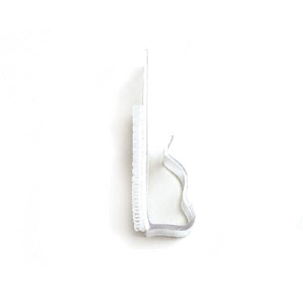 Skirting Clip, velcro, type VTC, fits table skirt to attach valances or lace skirting