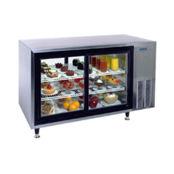 Countertop Refrigerator : Silver King SKDC48PT/C10 Countertop Refrigerated Display Case, pass ...