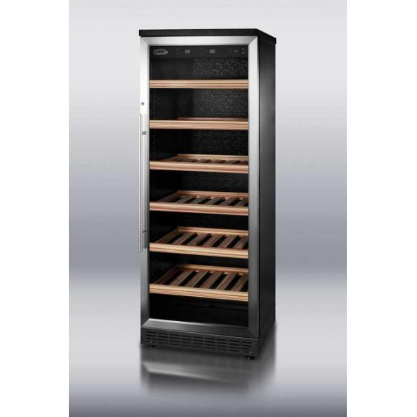 Deluxe Wine Cellar, full-size, reach-in, (80) bottles capacity, auto defrost