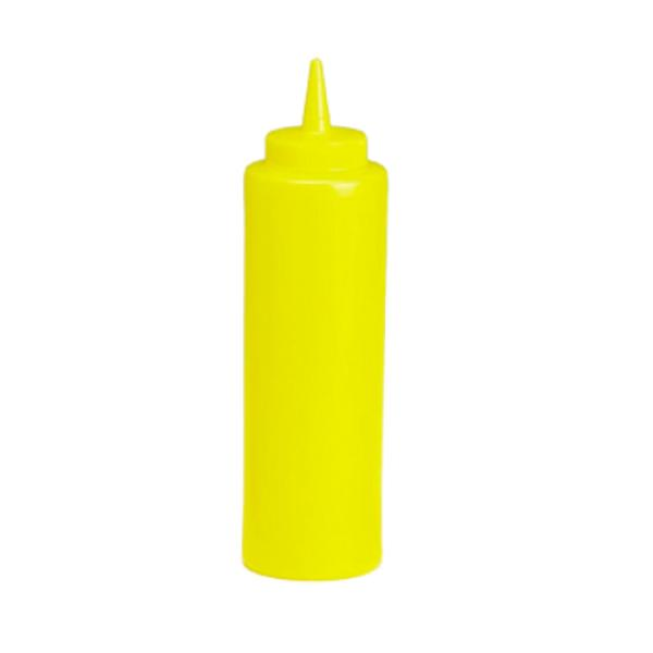 Squeeze Bottle 12 Oz 38mm Opening Mustard Cone Tip