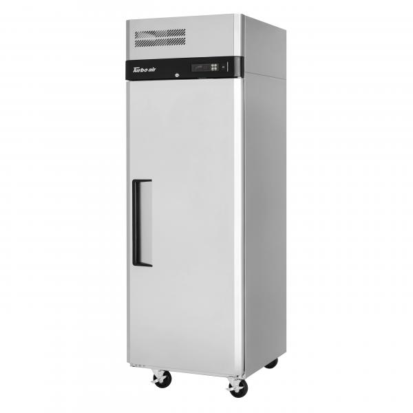 M3 Freezer, reach-in, one-section, 21.7 cu. ft., self-contained, self-cleaning condenser device