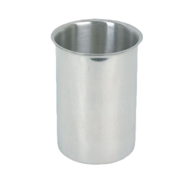 Bain Marie Pot, 4-1/4 quart, polished exterior and satin interior, stainless steel