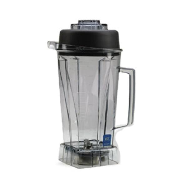 Blender Container, high-impact, 64 oz. (2 liter) capacity, ICE blades, lid, BPA Free Tritan™