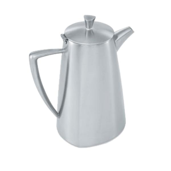 "Triennium™ Coffee Pot, 2.3 quart (2L), 8-3/8""H, satin-finish 18&#4"