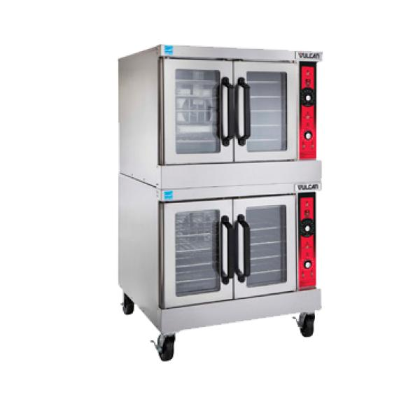 Vulcan SG44 Convection Oven, gas, double-deck, solid state controls ...