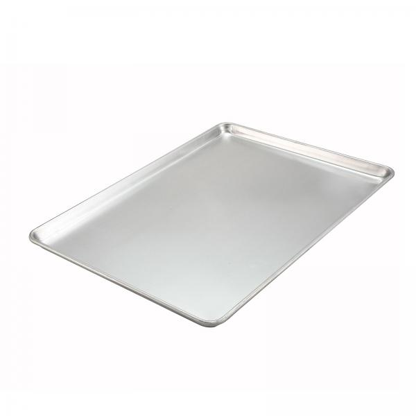 "Sheet Pan, full size, 18"" x 26"", closed bead, 18 gauge, 3003 aluminum"