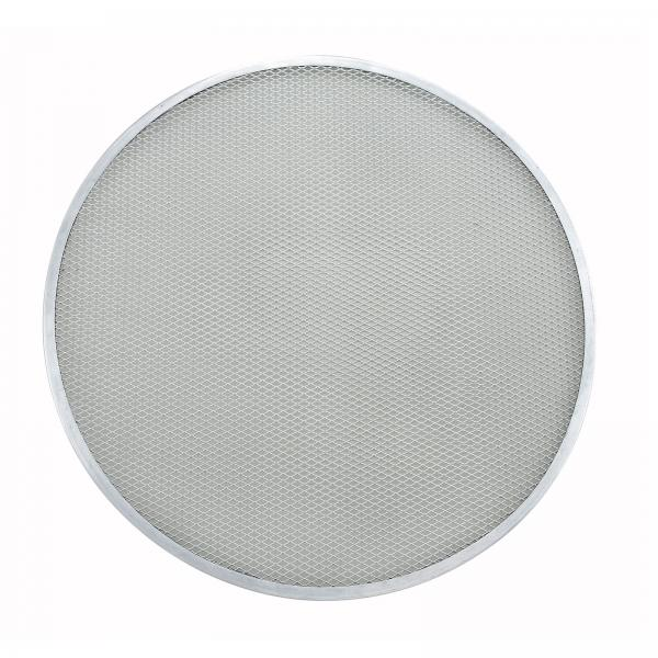 "Pizza Screen, 19"" dia., round, seamless, aluminum (Qty Break = 12 each)"