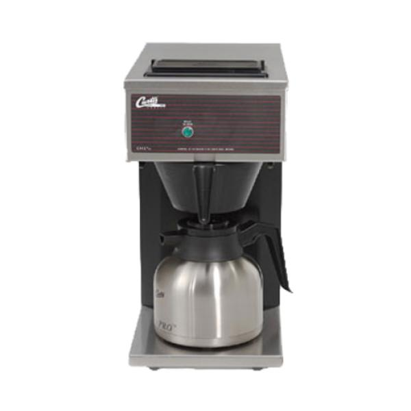 Curtis CAFE0PP10A000 Thermal Carafe Pour-Over Brewer, low profile, manual fill, single, 1.90 ...