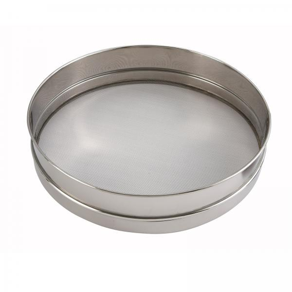 Winco Siv 10 Sieve 10 Quot Dia X 3 Quot Deep Round Stainless
