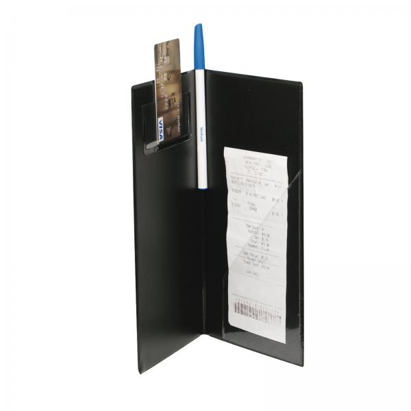 "Check Holder, 10"" x 5-1/2"", grooved spine (Qty Break = 12 each)"