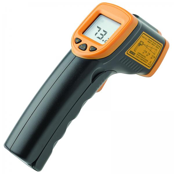 Infrared Thermometer, -26° to 608°F (-32° to 320°C) temperature range, 1""
