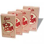 "Benchmark Closed Top Popcorn Box, 1.25 oz., 4-3/4""W x 2""D x 7-1/2""H, (100 boxes per"
