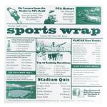 "Food-safe Sports Newsprint Liner, 12"" x 12"", paper, white (1000 pieces per case)"