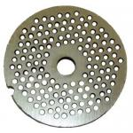 "Grinder Plate, 1/8"", for #10/12 meat grinder, replaces Biro: 1201-8A"