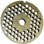 "Grinder Plate, 1/4"", for #22 meat grinder, replaces Hobart: C-16432-1 (CCC item GR-118)"
