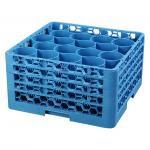 OptiClean™ NeWave™ Dishwasher Glass Rack, 20-rounded compartments with (4) Sure-Lock