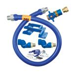 "Dormont Blue Hose™ Moveable Gas Connector Kit, 3/4"" inside dia., 48"" long, covered"