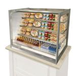 "Italian Glass Refrigerated Counter Display Case, drop-in, 36""W x 33""D x 50.7""H, (3)"