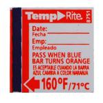 Taylor® Dishwasher Temperature Label, target temperature of 160°F, the label indicates