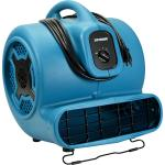 Floor Dryer, 3600 CFM, 3-speed, carry handle, 1 HP, blue & black, 1 year limited warranty