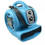 Floor Dryer, scented, ionized, 4-speed, 4 air flow positions, 800 CFM, 115V&