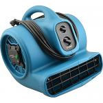 Floor Dryer, scented, ionized, 3-speed, 4 air flow positions, 2000 CFM, dual