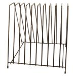 "Cutting Board Storage Rack, holds up to (10) 1"" cutting boards, 12-1/4"""