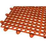 "Teknor Apex Tek-Connect™ Grease-Proof Floor Mat, 36"" x 48"", 1/2"" thick"