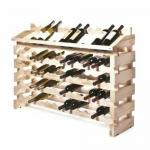 "Modularack® Pro Wine/Champagne Rack, end display, (84) bottle capacity, 48""W x 12""D x"