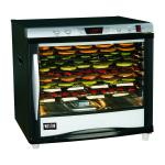 Weston PRO-1200 Dehydrator, single zone, 80 liter/(12) tray capacity, digital temperature control