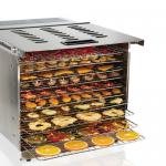 Proctor-Silex Commercial Food Dehydrator, 16 sq. ft. drying area, (10) tray capacity, digital