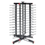 "JACKSTACK® Plate Rack, swiveling countertop, four-sided, 18-9/10""W x 18-9/10""D x"