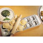 "Imperia Ravioli Mold, 13-2/3""L x 5-1/2""W, makes (12) 2"" x 2"" domed squares"