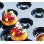 "Flexipan® Savarin Mold, 24 per sheet, 2 oz. cap., 2-7/8"" dia. x 7/8""H, sheet size:"