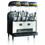Omega Granita Machine, lighted top panel, (3) 3 gallon clear polycarbonate container, continuous