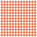 "Food-Safe Sandwich/Deli Wrap Paper, 12"" x 12"", grease-resistant, paper, orange checker on"