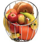 "Cornucopia Basket, 11-3/4"" x 10"" x 11-1/2"", tall, hand wash only, wire, 18/8 stainless"