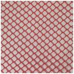Bar Mesh, 2 ft. x 40 ft. roll, heavy duty plastic, red