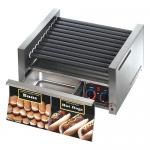 Grill-Max® Hot Dog Grill, roller-type with integrated bun drawer, stadium seating